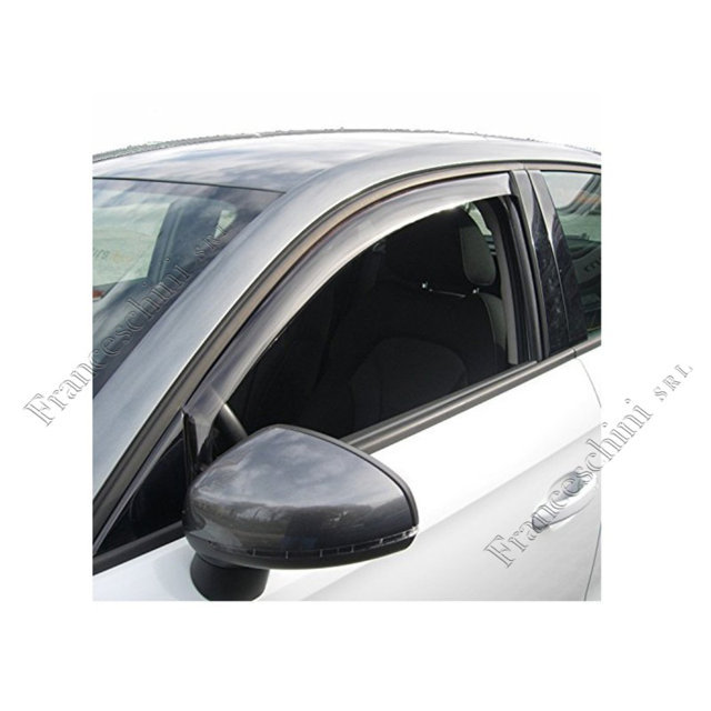 DEFLETTORI PER gaz Gazelle 2 2003-2010 Branda auto 2 PORTE ANTERIORE